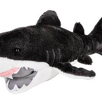 "11"" Great White Shark Stuffed Animal Plush Zoo Animal Friend Collection"