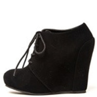 up bootie wedge