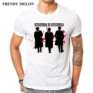 Trendy Melon New Arrival Men Fashion Printed T-Shirt Peaky Blinders Short Sleeve Tee Shirts Hipster Cool Design Tops MP02