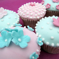the summer garden collection couture cupcakes by peggy's cupcakes | notonthehighstreet.com
