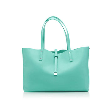 Tiffany & Co. - Reversible tote in smooth leather. More colors available.
