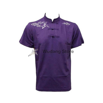 Purple Short Sleeve Martial Arts T-Shirt