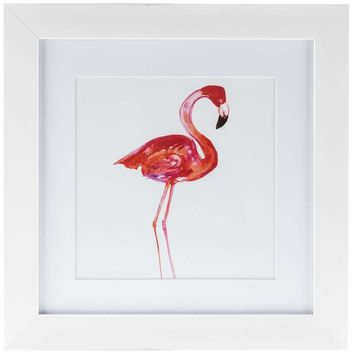 Flamingo Framed Wall Art | Hobby Lobby | 1123140