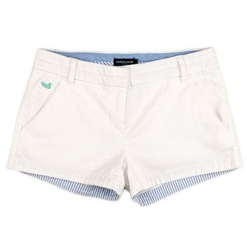 The Brighton Chino Short in White by Southern Marsh - FINAL SALE