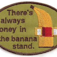 Arrested Development Banana Stand Patch by StoriedThreads on Etsy