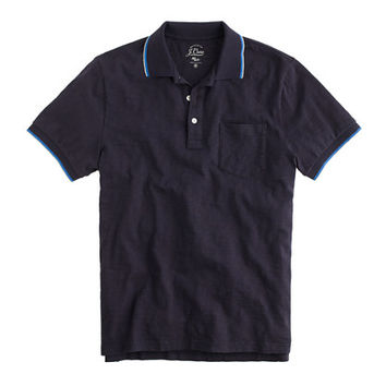 J.Crew Mens Slim Tipped Polo Shirt