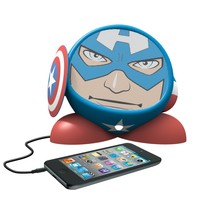 Avengers Captain America Rechargeable Character Speaker, MC-M662