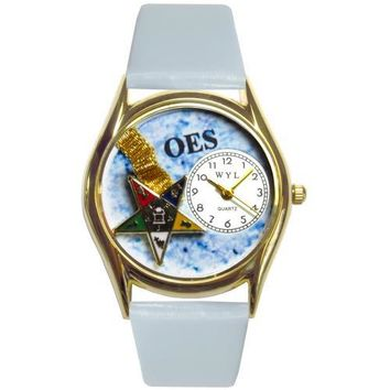 Order of the Eastern Star Watch Small Gold Style