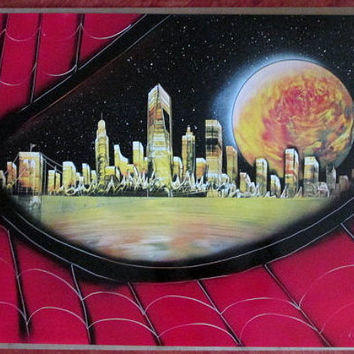spiderman spray paint art,spiderman decor,spiderman gifts,spiderman poster,spiderman painting,superhero art,superhero decor,new york,eye
