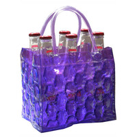 Chill It Beer Bottle Bag 6 - Grape