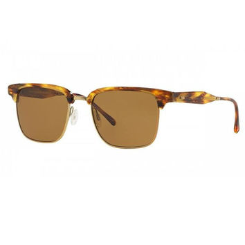 Gold Tortoise Framed Oliver Peoples Sunglasses