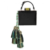Tonya Hawkes Square Tassel Box Clutch - Small Clutch - ShopBAZAAR