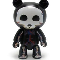 TOY2R - Qee 2.5'' Skelanimals Visible Chung Kee Black