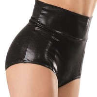 High-Waisted Metallic Brief - Balera