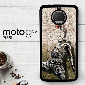 Michael Jordan Slam Dunk Carbonite V0979  Motorola Moto G5S Plus Case