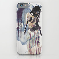 Bellydancer Abstract iPhone & iPod Case by Galen Valle