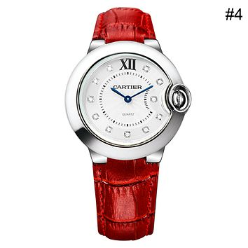 Cartier 2018 Tide brand fashion personality exquisite fashion table waterproof watch F-CTZL #4