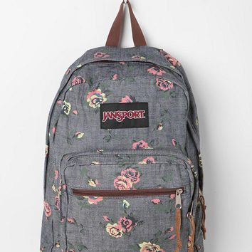 Jansport Floral Chambray Backpack