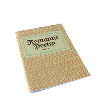 Grand Budapest Hotel 'Romantic Poetry Vol 1' Notebook