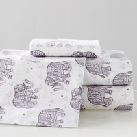 Winter Elephant Sheet Set