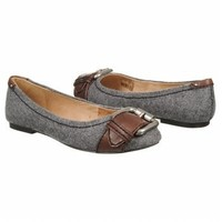 Women's Fossil  Maddox Novelty Flat Charcoal Flannel Shoes.com
