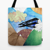 Paper plans Tote Bag by Li9z | Society6