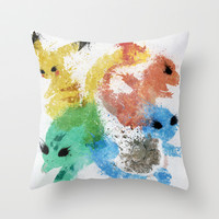 Starters Throw Pillow by Melissa Smith