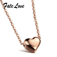 Valentines Gift Heart  Love Necklace