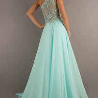 One Shoulder Prom Gown with Sheer Back by Tiffany Designs,2013 Spring Prom Dresses