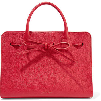 Mansur Gavriel - Sun mini textured-leather tote