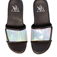 SILVER NILE SLIP-ON SANDAL