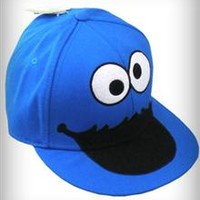 Cookie Monster Flatbill Hat