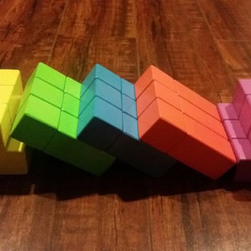 Magnetic Wooden Blocks 30 pieces