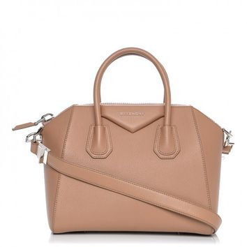 GIVENCHY Sugar Goatskin Small Antigona Old Pink