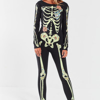 Out From Under Floral Skeleton Catsuit | Urban Outfitters