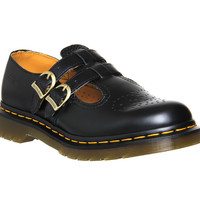 Dr. Martens Core 8065 Mary Jane Black Leather - Flats