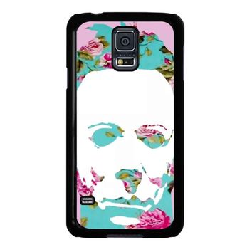 Floral Michael Myers Pop Art Samsung Galaxy S5 Case