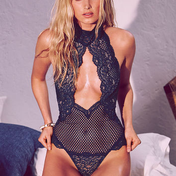 Cutout High-neck Teddy - Very Sexy - Victoria's Secret