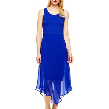 Vince Camuto Pointed Hem Dress