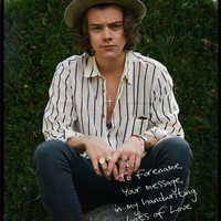 Harry Styles One Direction Colour Personalised Poster | StarGifts.com