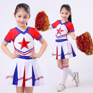 New Kid Children Academic Dress Primary School Uniforms Set Kid Student Costumes Girl Boy Dr Suit Graduation Cheerleader Suits