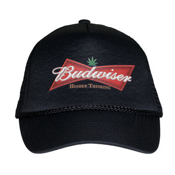 Budwiser (Higher Thinking) Trucker Hat