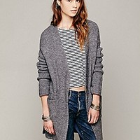 Free People  Oversized Sweater Coat at Free People Clothing Boutique