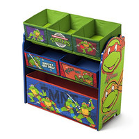 Delta Children Multi Bin Toy Organizer, Nickelodeon Ninja Turtles