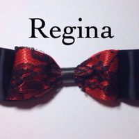 Regina (once upon a time) inspired bow