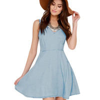 Sleeveless V-neck A-Line Pleated Mini Dress