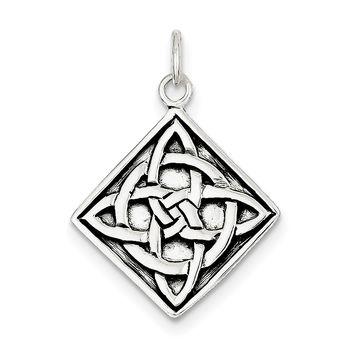 Sterling Silver Celtic Charm QC4705