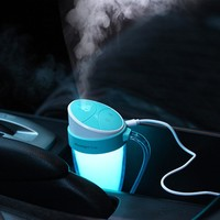LED Colorful Aromatherapy Mist Maker Diffusers Humidifier For Car