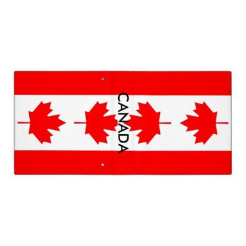 Binder with Flag of Canada