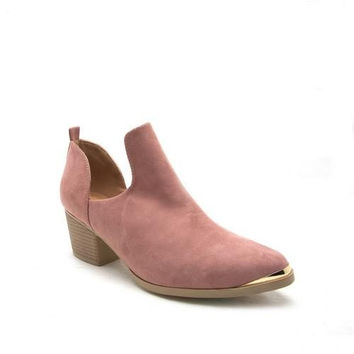Holster Blush Bootie